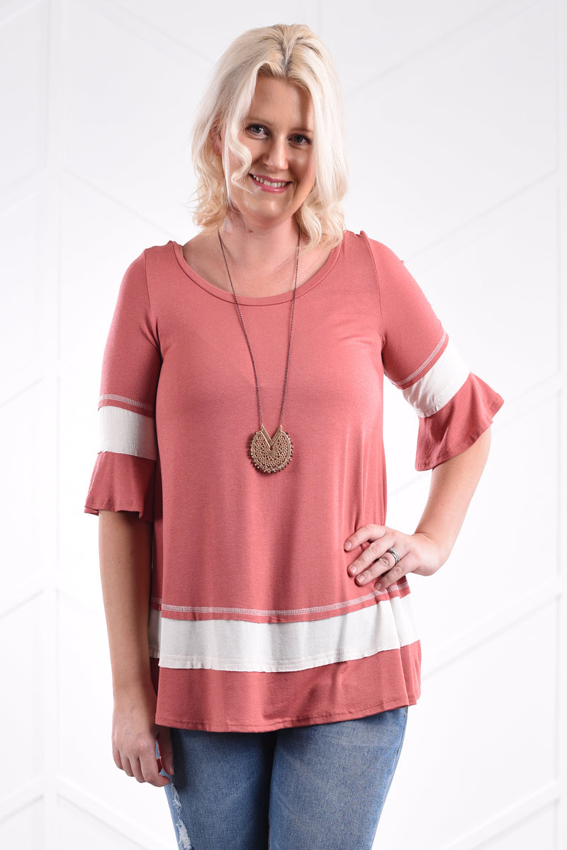 Hailey Top - women's boutique clothing Strong Confident You