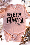 Crazy Thankful Tee - women's boutique clothing Strong Confident You