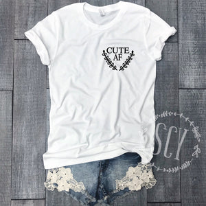 Cute AF - women's boutique clothing Strong Confident You