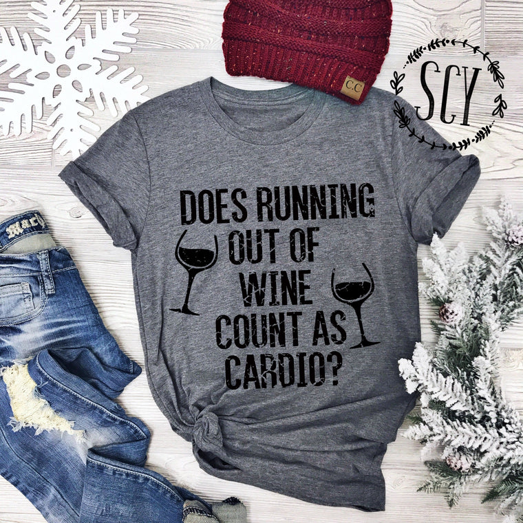 Does Running Out Of Wine Count As Cardio