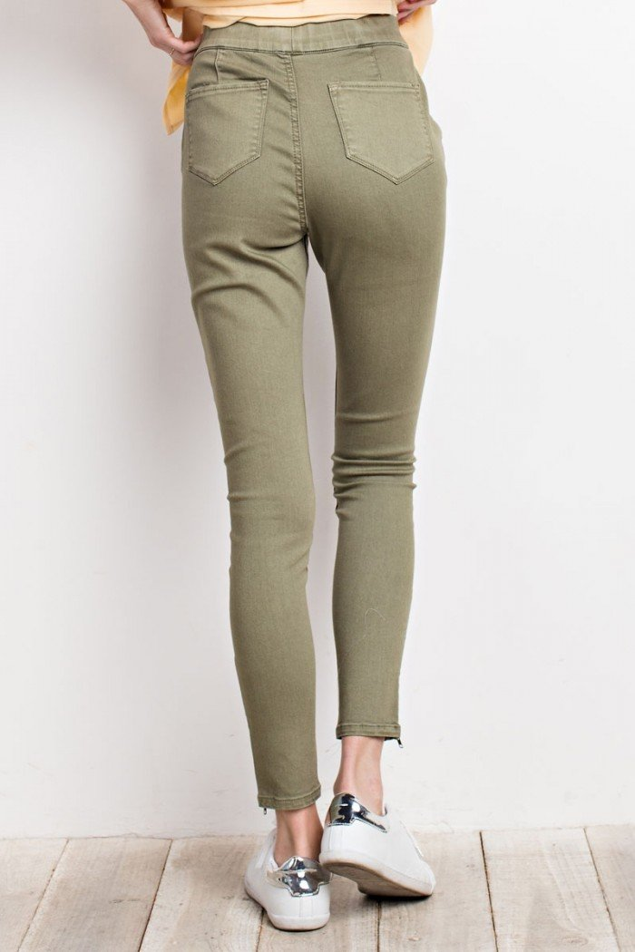 Reagan Pants - Olive