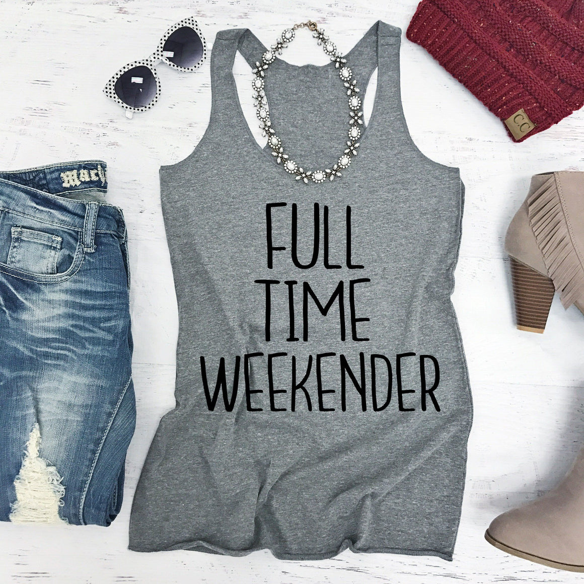 Full Time Weekender - Strong Confident You