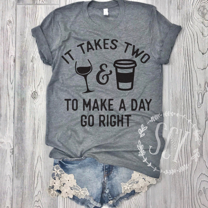 It Takes Two To Make A Day Go Right - women's boutique clothing Strong Confident You