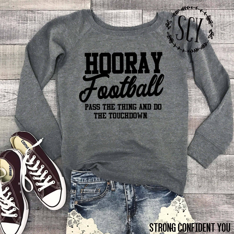 Hooray Football - women's boutique clothing Strong Confident You