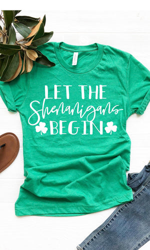 Let The Shenanigans Begin - women's boutique clothing Strong Confident You
