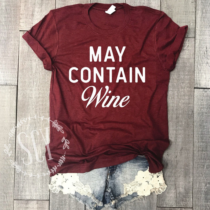 May Contain Wine - women's boutique clothing Strong Confident You