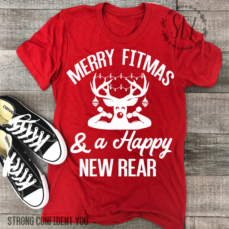Merry Fitmas And A Happy New Rear