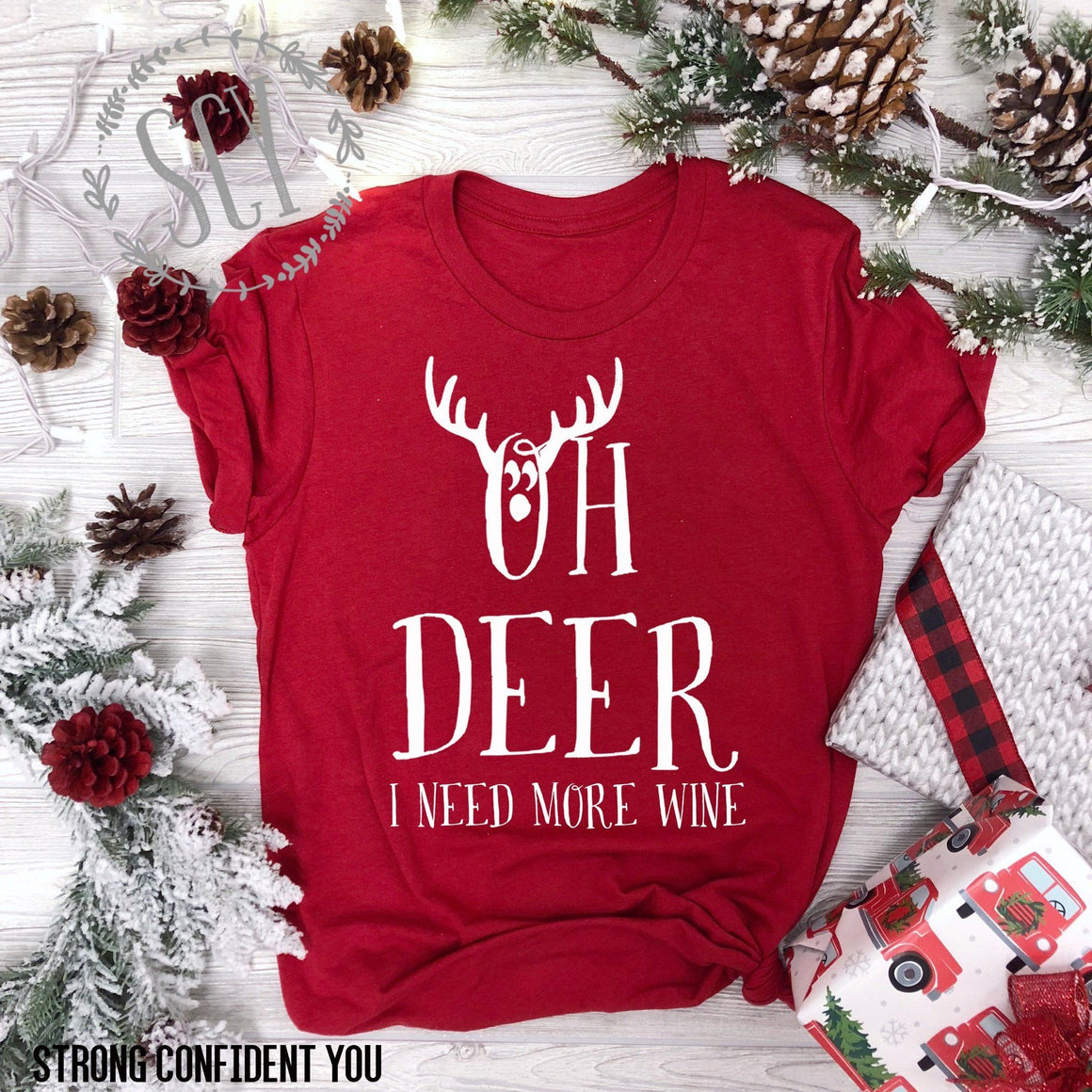 Oh Deer - I Need More Wine