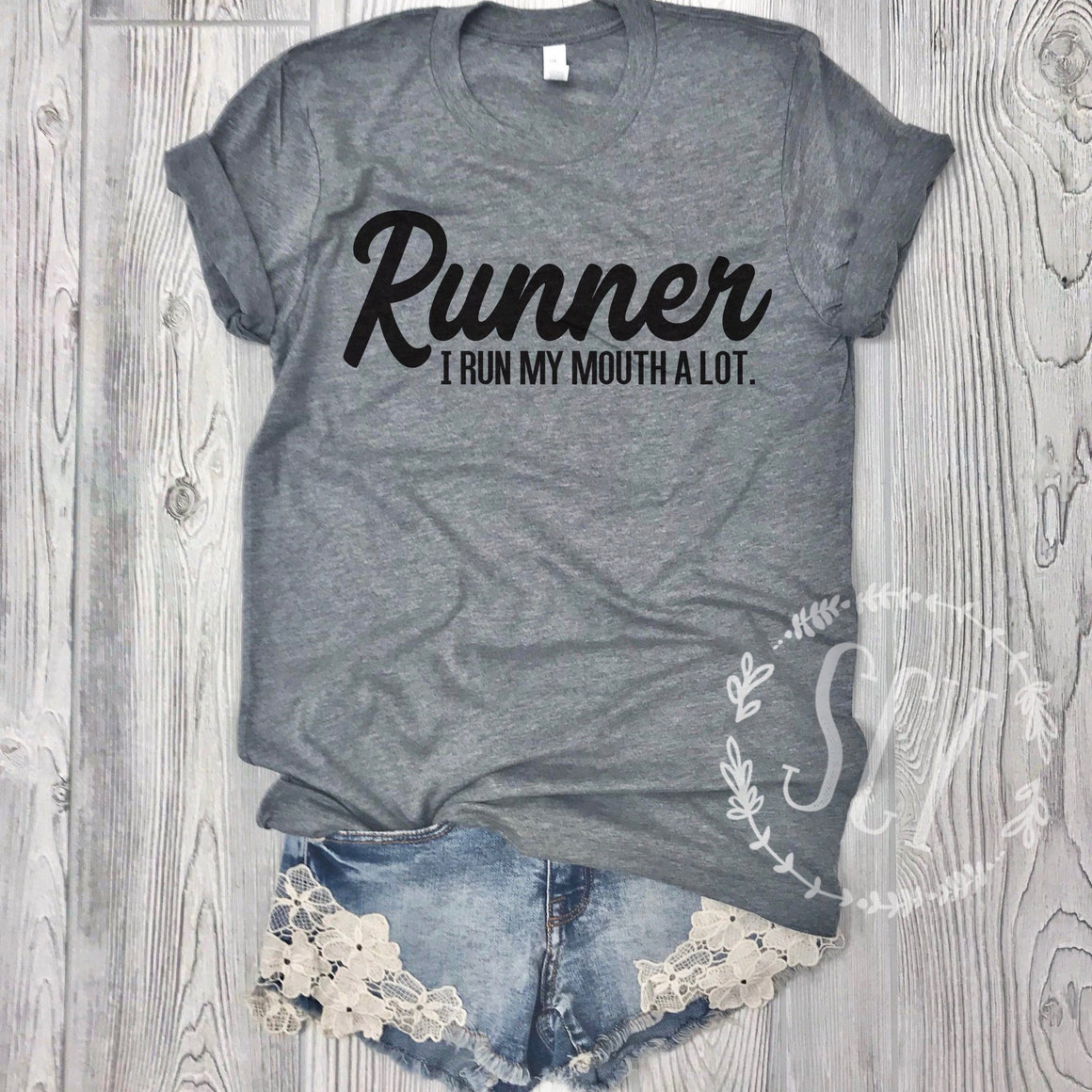 Runner I Run My Mouth A Lot