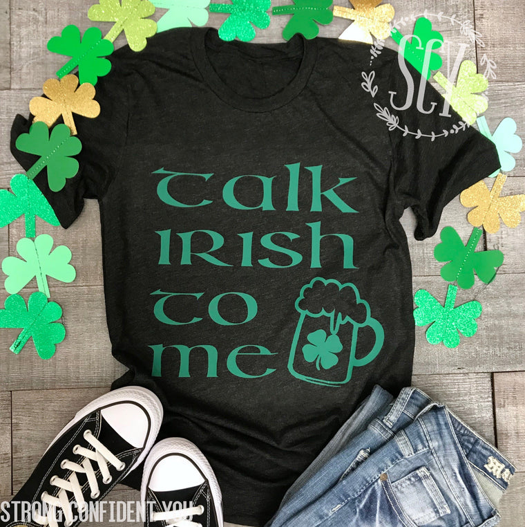 Talk Irish To Me