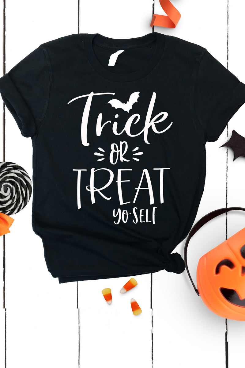 Trick or Treat Yo Self Tee