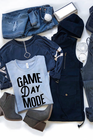 Game Day Mode Tee - women's boutique clothing Strong Confident You