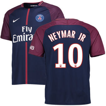 Neymar #10 Psg 2017/18 Home Men Jersey
