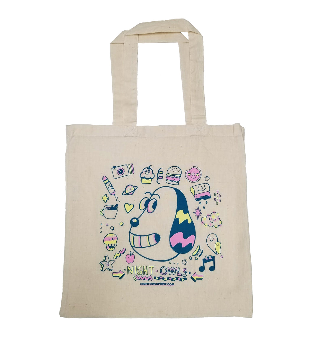 Night Owls - Blake Jones Tote Bag
