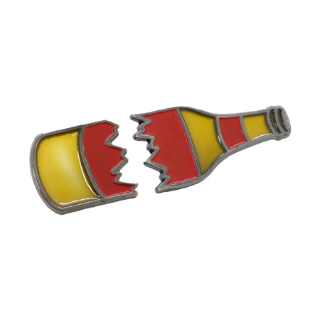 Broken Bottle Enamel Pin Set