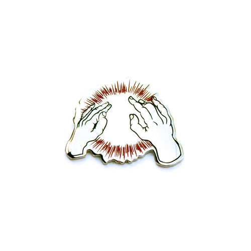 Lift Yr Skinny Fists Like Antennas Enamel Pin