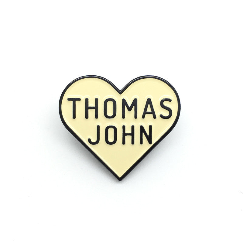 We Heart Thomas John - Enamel Pin