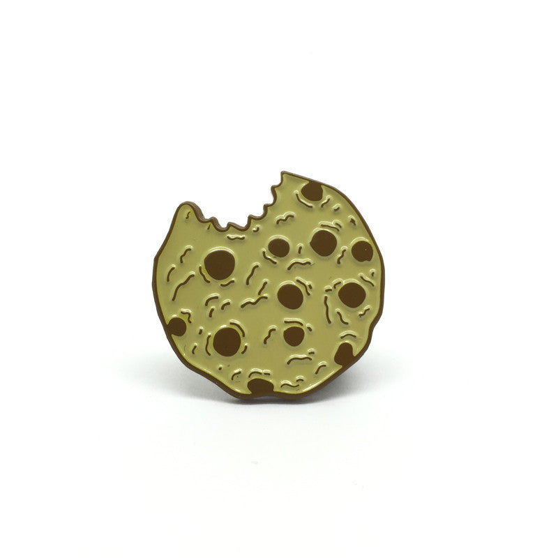 Vegan Chocolate Chip Cookie Enamel Pin