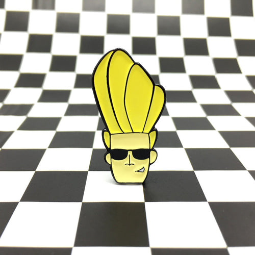 Johnny Bravo Enamel Pin