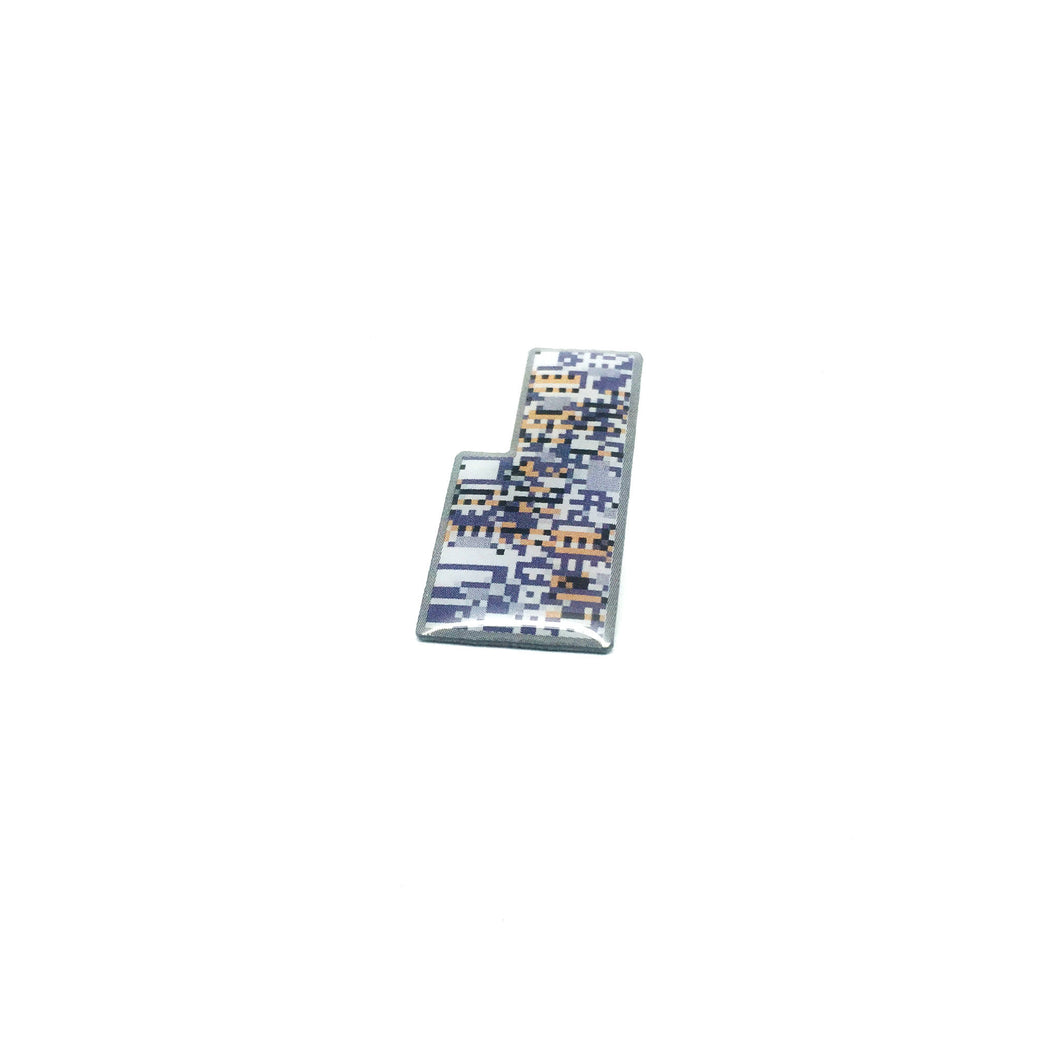 Missingno. Offset Lapel Pin