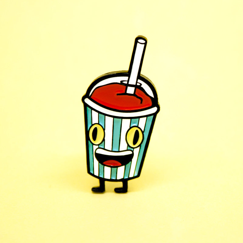 Brain Freeze Enamel Pin
