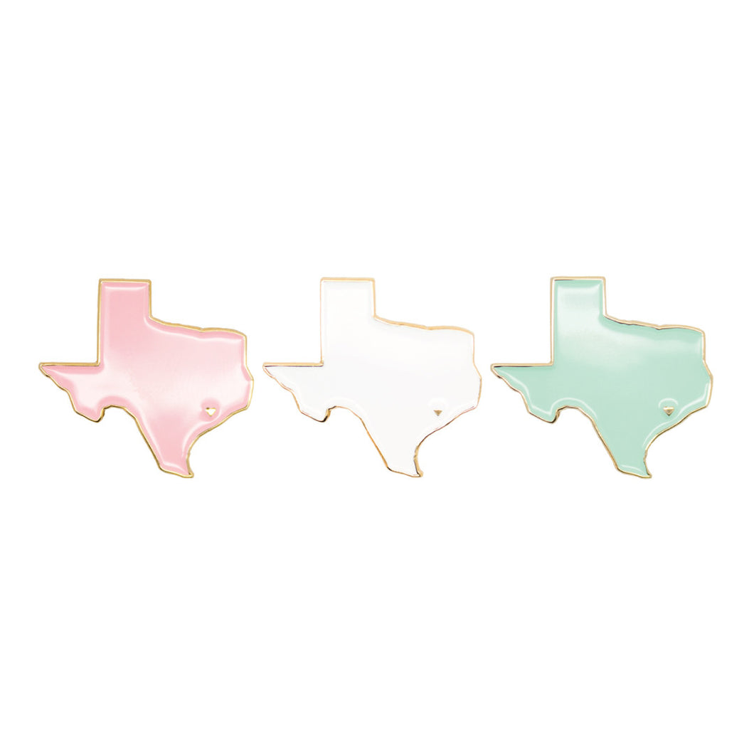 Houston, TX Heart Enamel Pin
