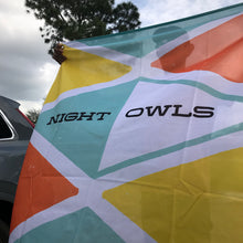 Night Owls Logo Flag