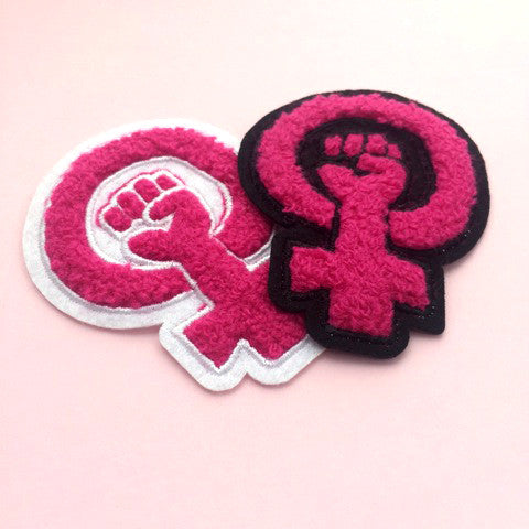 Feminist Fist Patch