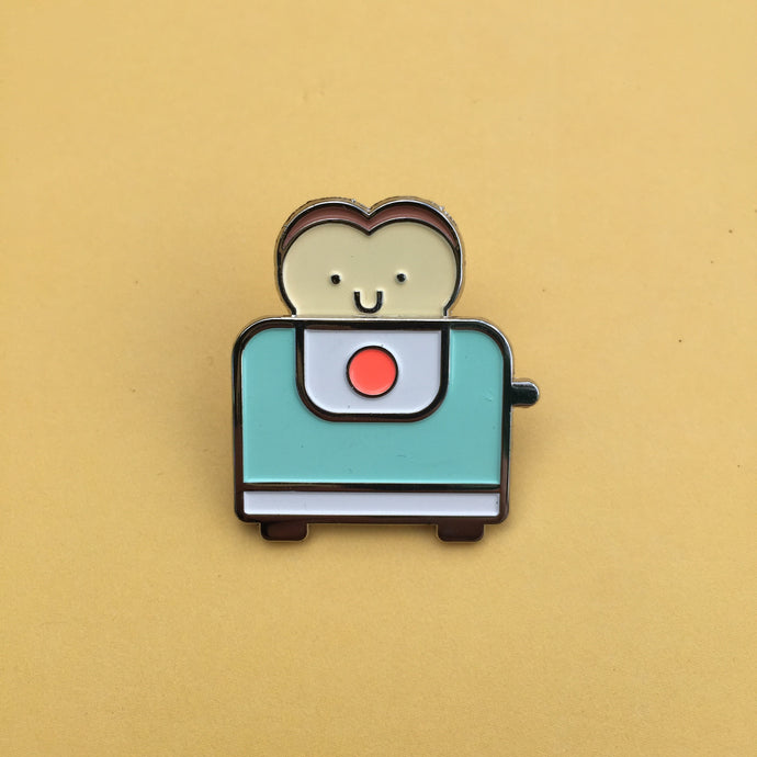 Toaster Buddy Enamel Pin