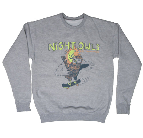 Night Owls - Joel Kirschenbaum CREWNECK