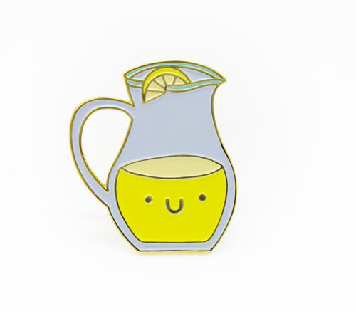 Lemonade Pal Enamel Pin