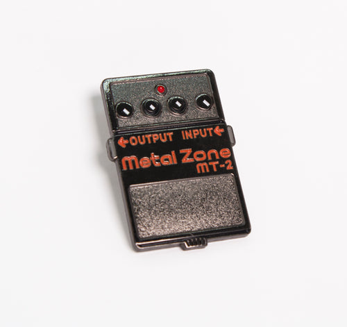 Metal Zone Enamel Pin