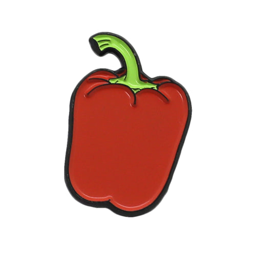 Bell Pepper Enamel Pin