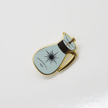 Decanter Enamel Pin