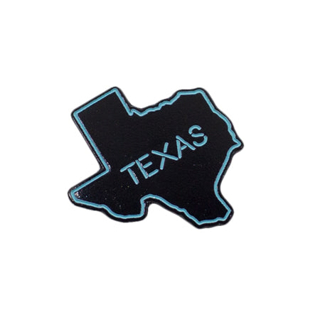 Neon Texas Enamel Pin