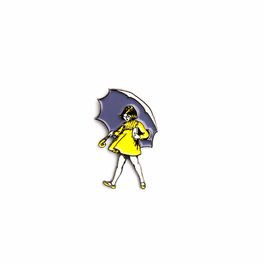 When It Rains, It Roars Enamel Pin