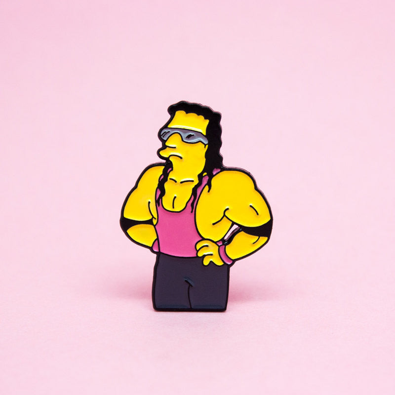 The Hitman of Springfield Enamel Pin