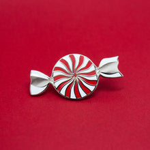 Peppermint Enamel Pin