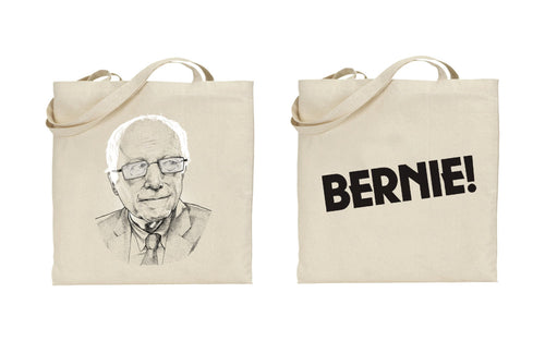 Bernie! by Dave Kloc - Tote Bag