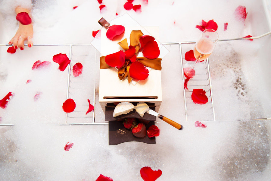 How to Celebrate Valentine's Day With Cheese, Wine, and Chocolate