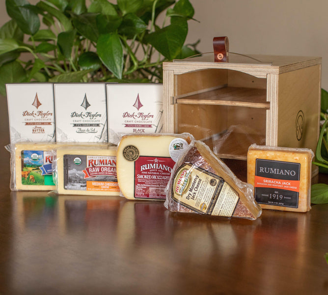 Rumiano Cheese & Dick Taylor Chocolate Giveaway! 2/6/2019 -  2/18/2019