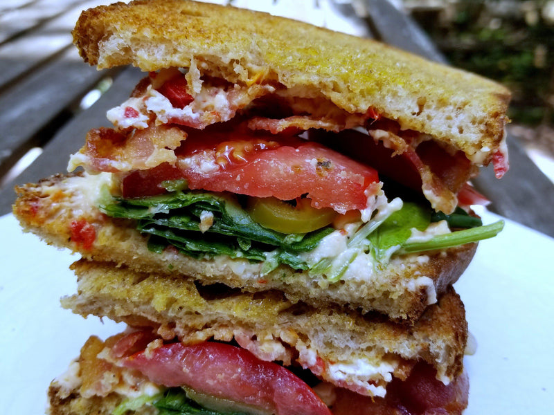 Recipe: BLT with Pimento Cheese & Pickled Jalapeños