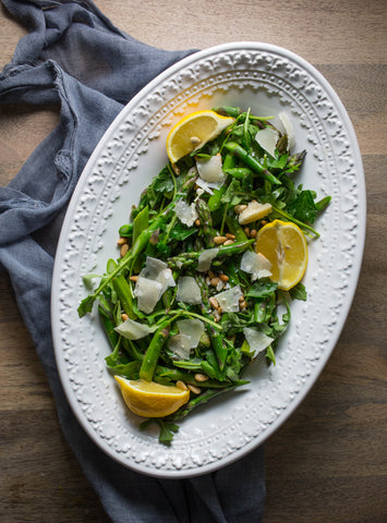 asparagus salad with parmesan