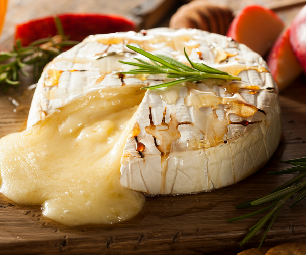 brie cheese for holiday winter board
