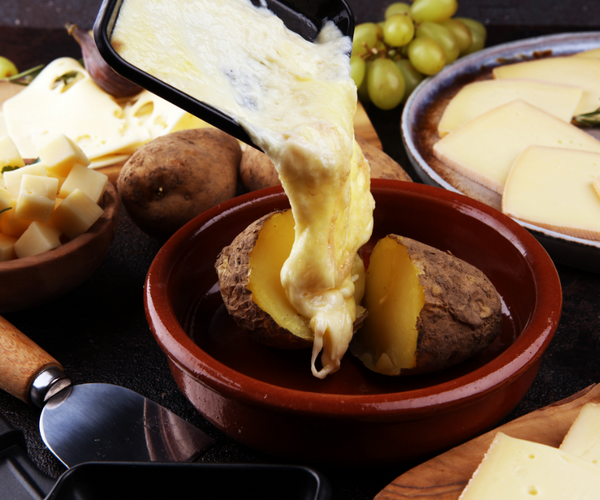 raclette winter cheese