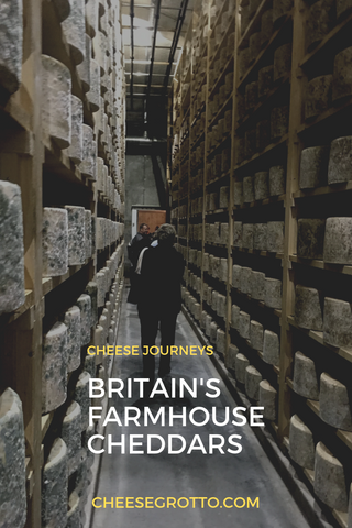 Britain's Farmhouse Cheddars - Westcombe Cheddar Cave in England