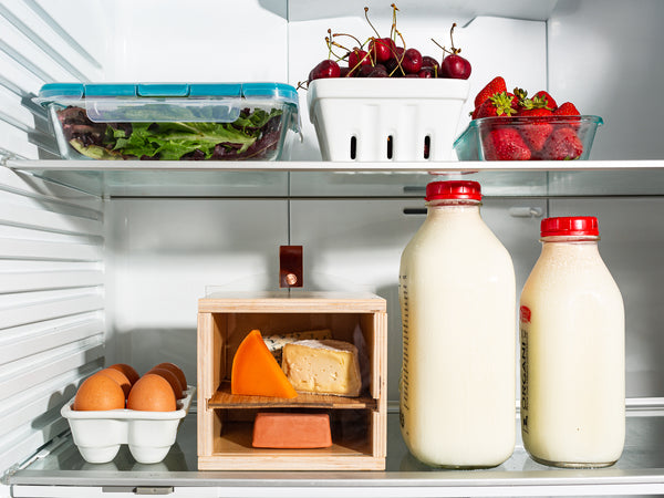 how to store cheese in the fridge