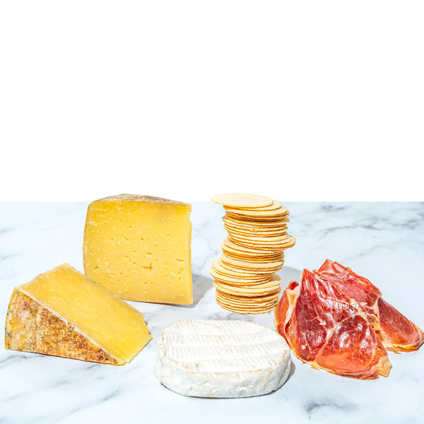 cheese and charcuterie gift box