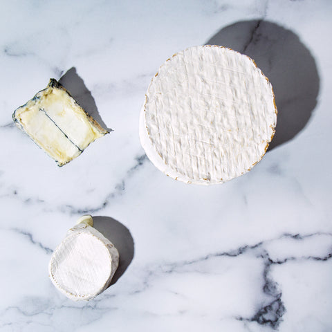 different ages of goat cheese