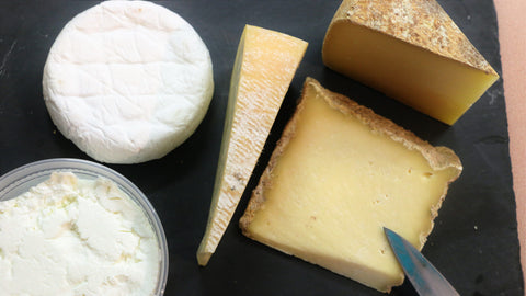 sprout creek farm's cheeses